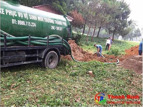 Đơn vị hút bể phốt số 1 tại Hà Nội