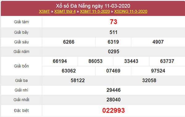 Dự đoán XSDNG hôm nay 14/3/2020 - Soi cầu KQXS Đà Nẵng
