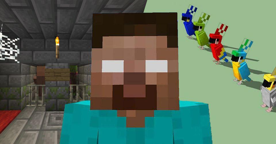 Khám phá & Quả trứng Phục sinh kỳ lạ nhất Minecraft